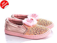 Модные слипоны для девочки CLIBEE р 31-36(КОД 0567-00)