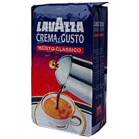 "Кофе ""Lavazza"" молотый Crema e Gusto 6пачок * 250г вакуум (1 * 6/3)"