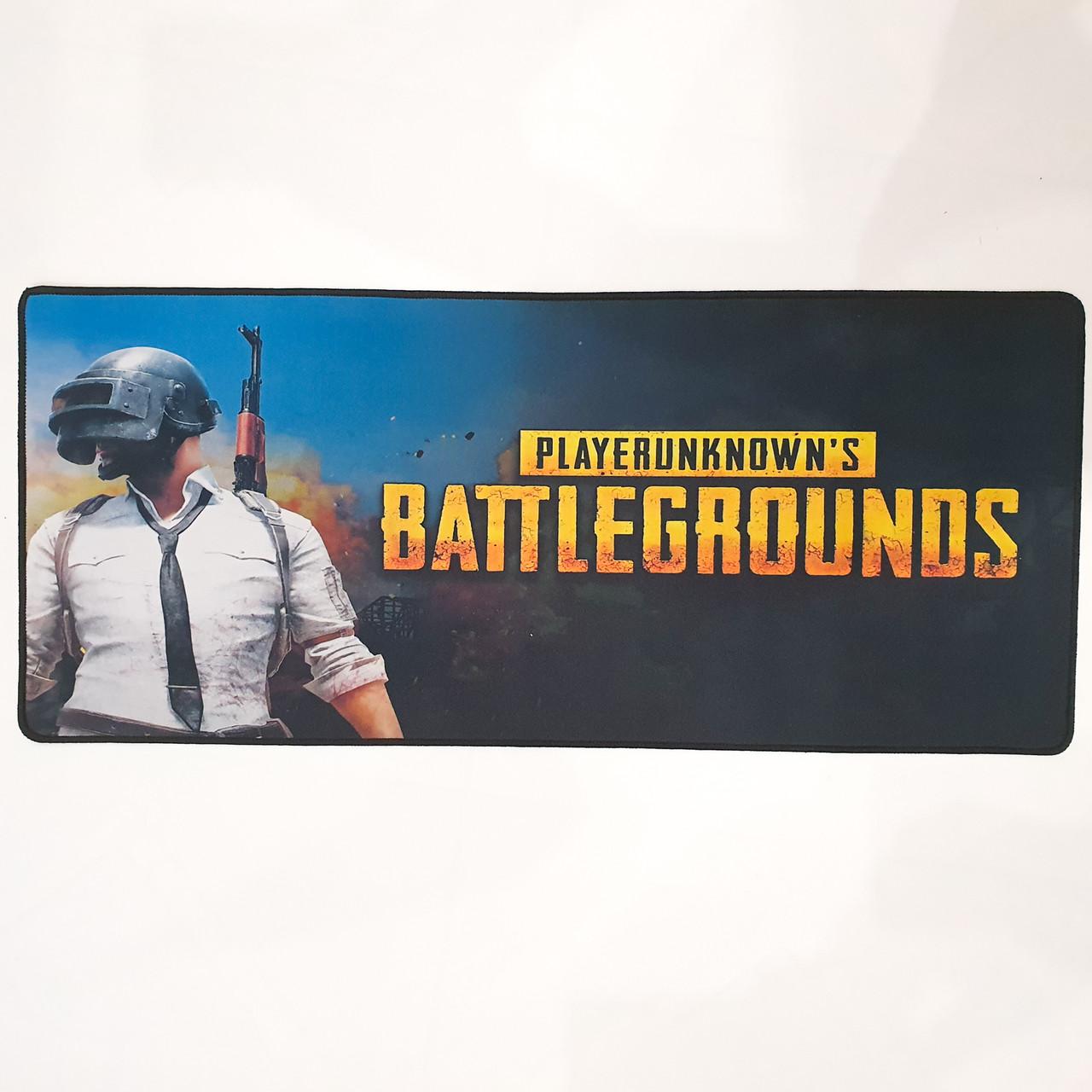 Коврик для мыши Игровая поверхность мышки 30x70x0.3 см BATTLEGROUNDS P-700