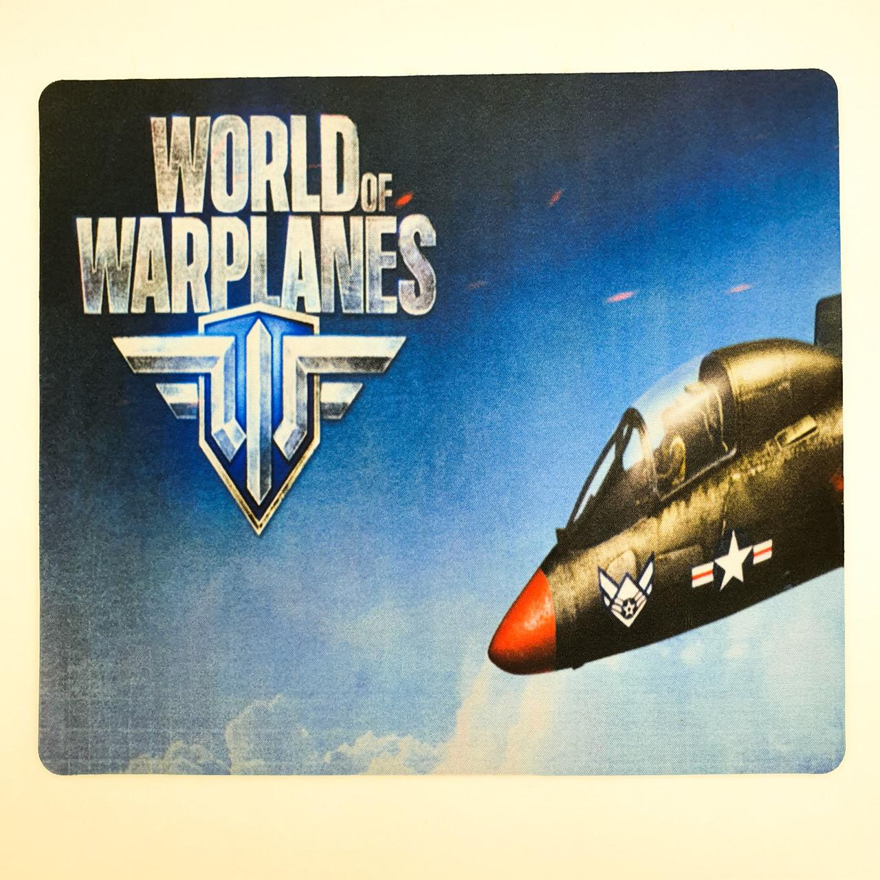 Ігрова поверхня килимок для миші 24x32x0.3 см World of warplanes №1