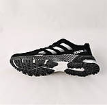 Кроссовки Adidas Fast Marathon Черные Мужские Адидас (размеры: 41,44,45,46) Видео Обзор, фото 4
