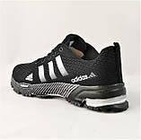 Кроссовки Adidas Fast Marathon Черные Мужские Адидас (размеры: 41,44,45,46) Видео Обзор, фото 5