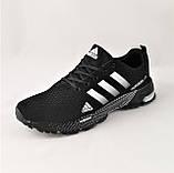 Кроссовки Adidas Fast Marathon Черные Мужские Адидас (размеры: 41,44,45,46) Видео Обзор, фото 7