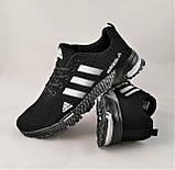 Кроссовки Adidas Fast Marathon Черные Мужские Адидас (размеры: 41,44,45,46) Видео Обзор, фото 8