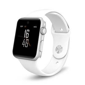 Розумні годинник Lemfo LF07 DM09 зі слотом під SIM карту Білий (swlemlf07wh)