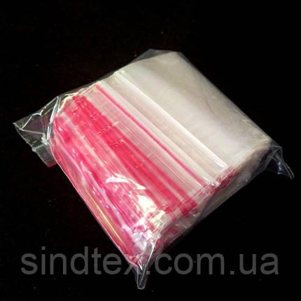 ЗИП пакеты с замком ZIP-LOCK, размер 150х200 мм, уп. 100шт (СИНДТЕКС-0036), фото 2