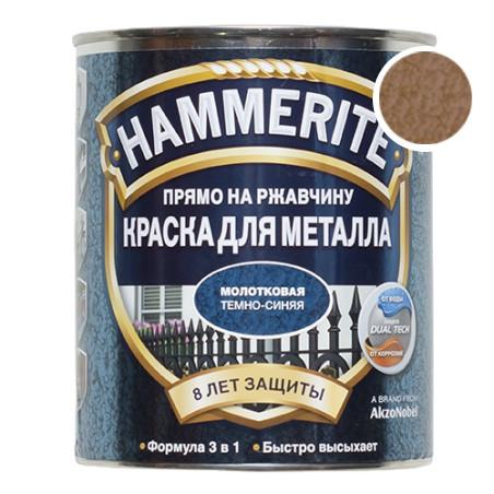 Hammerite с Молотковым эффектом, Медная 0.75 л