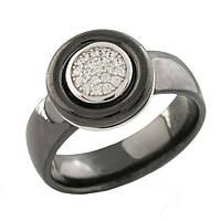 Серебряное кольцо Silver Breeze с керамикой 18.5 размер (1221570)