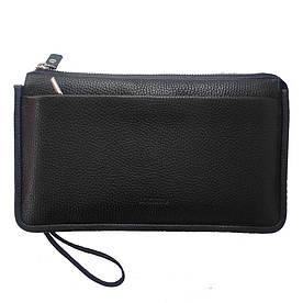 Борсетка мужская с экранирующим карманом для смартфона Locker Phone Bag Черный (hub_tqpK30426)