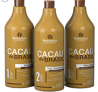 Кератин Natureza Cacau do Brasil, набор 3х1000 мл