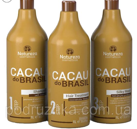 Кератин Natureza Cacau do Brasil, набор 3х500 мл