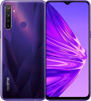 Смартфон Realme 5 4/128Gb (Purple) Global EU