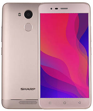 Смартфон Sharp R1 gold