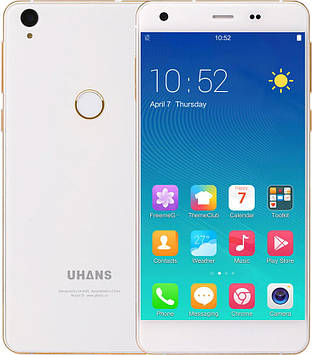 Смартфон Uhans S1 3/32Gb White