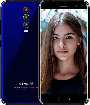 Смартфон VKWORLD K1 4\64GB Blue