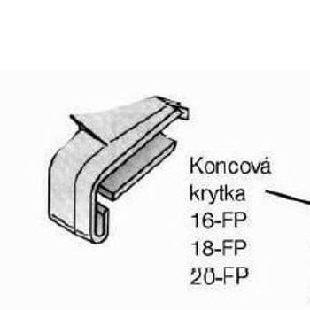 Заглушки для профілю FP16