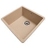 Мойка для кухни из камня Solid Vega Песок, фото 2