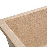 Мойка для кухни из камня Solid Vega Песок, фото 4