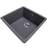 Мойка для кухни из камня Solid Vega Черный, фото 2