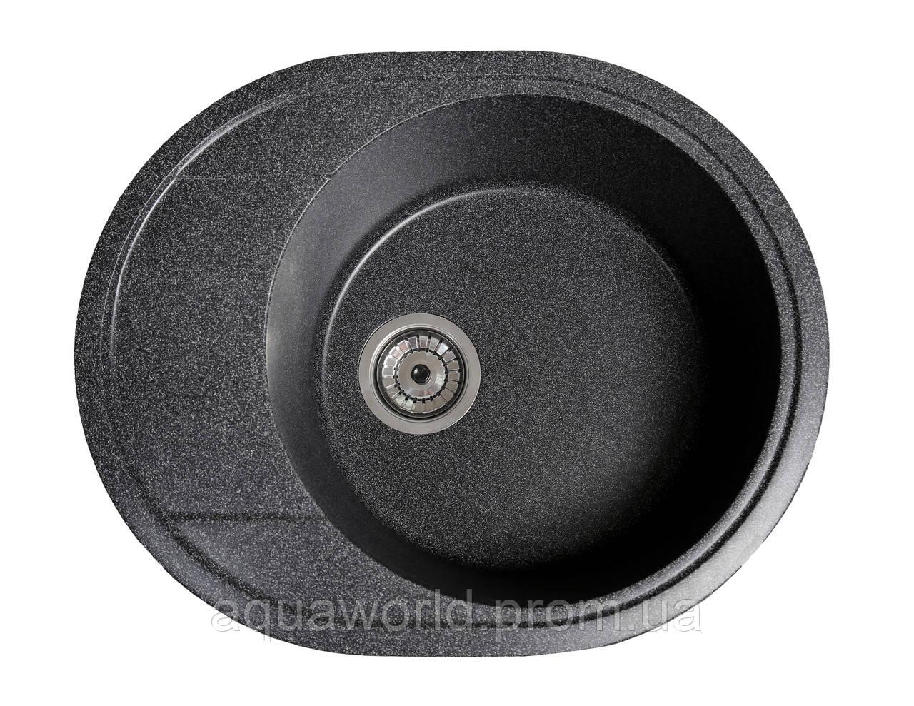 Мойка для кухни из камня Solid Comfy Черный