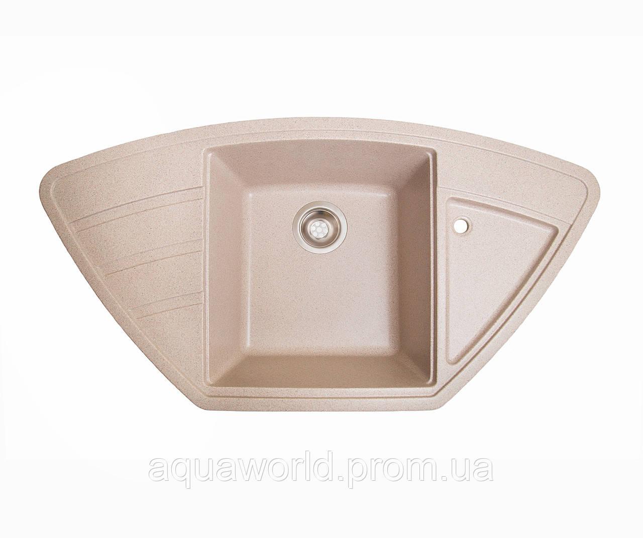 Мойка для кухни из камня Solid Craft Розовый