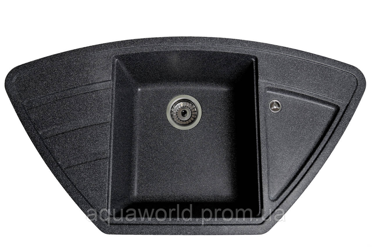 Мойка для кухни из камня Solid Craft Черный