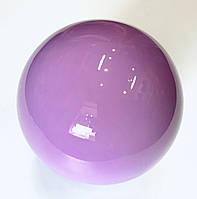Мяч для художественной гимнастики сиреневый 240 гр. диаметр 15 см.