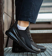 Мужские кроссовки в стиле Nike Air Max 270 черные