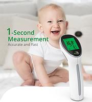 Медицинский инфракрасный термометр Yongrow для бесконтактного измерения температуры тела и поверхности