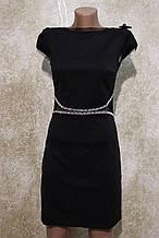 """Молодежное черное платье """"Оксфорд"""" от фирмы Ирена Ричи. Молодіжна сукня чорного кольору от Ірена Річі"""