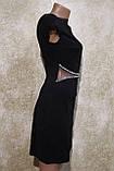 "Молодежное черное платье ""Оксфорд"" от фирмы Ирена Ричи. Молодіжна сукня чорного кольору от Ірена Річі, фото 3"