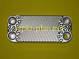 Теплообменник горячей воды (вторичный) 16 Fin Daewoo Gasboiler DGB-250, 300 ICH/KFC, фото 3