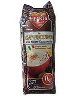 Шоколадный капучино Hearts Mit Feiner Kakaonote 1 кг (Германия)