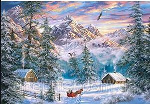 """Пазл 1000 эл. """"Castorland"""" (Польша) / Рождество в горах, фото 2"""