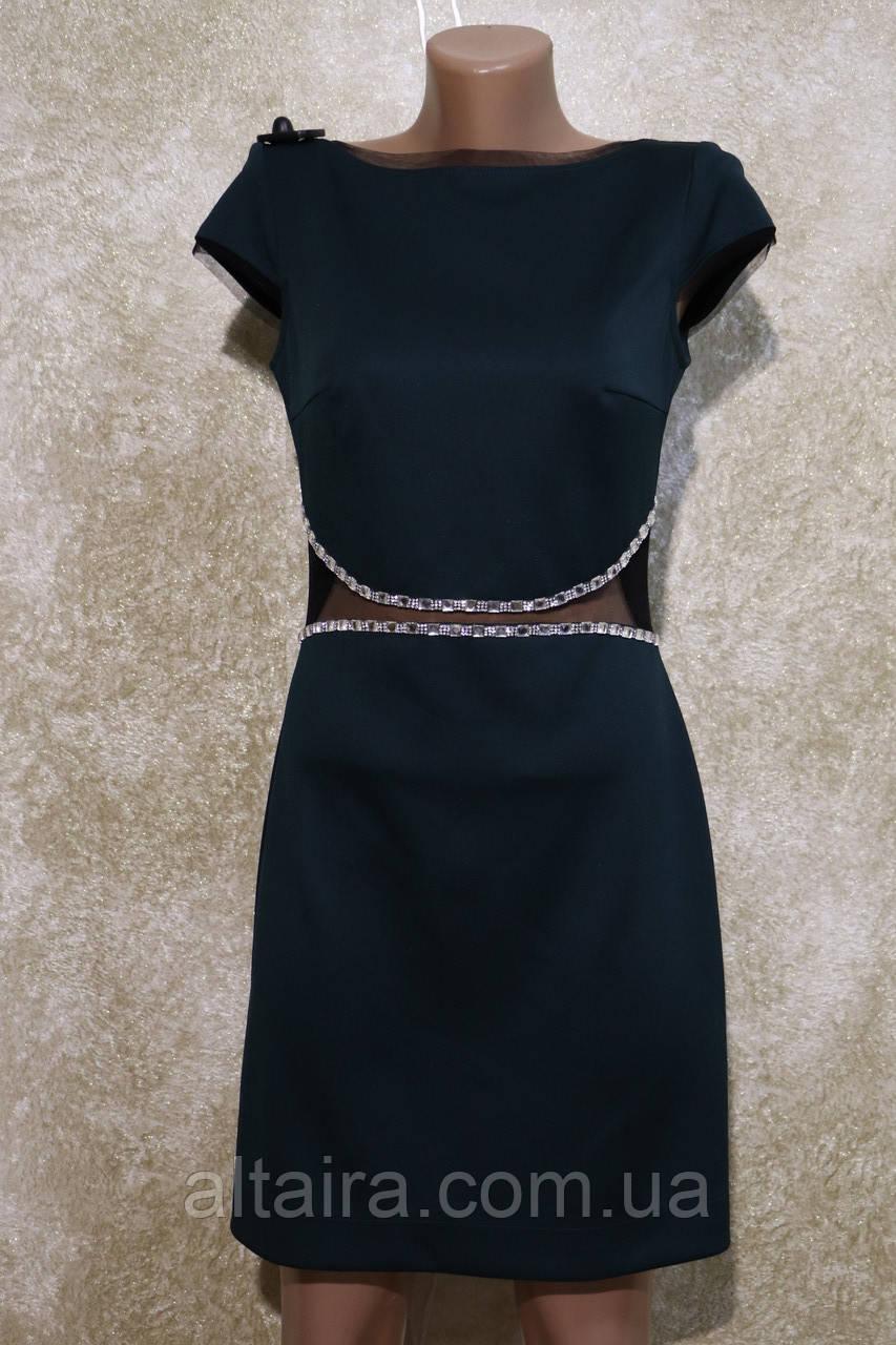 """Молодёжное изумрудное платье """"Оксфорд"""" от фирмы Ирена Ричи. Молодіжна ізумрудна сукня від Ірена Річі."""