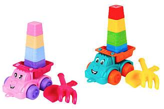 """Іграшка """"Набір для гри з піском ТехноК"""", 7051 (14шт) у сітці 21.3 х 16.5 х 12.5 см"""