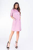 Новинка!!! Стильное платье - рубашка c карманами, арт 831, в 10 самых модных расцветках