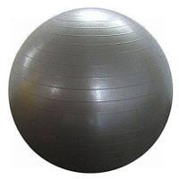 Мяч для фитнеса (фитбол) ZEL гладкий 65см FI-1983-65 (PVC, сатин, 800г, цвета в ассорт, ABS-система)