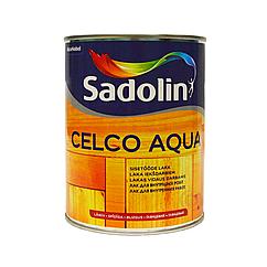 Лак для внутренних работ SADOLIN CELCO AQUA глянцевый 70