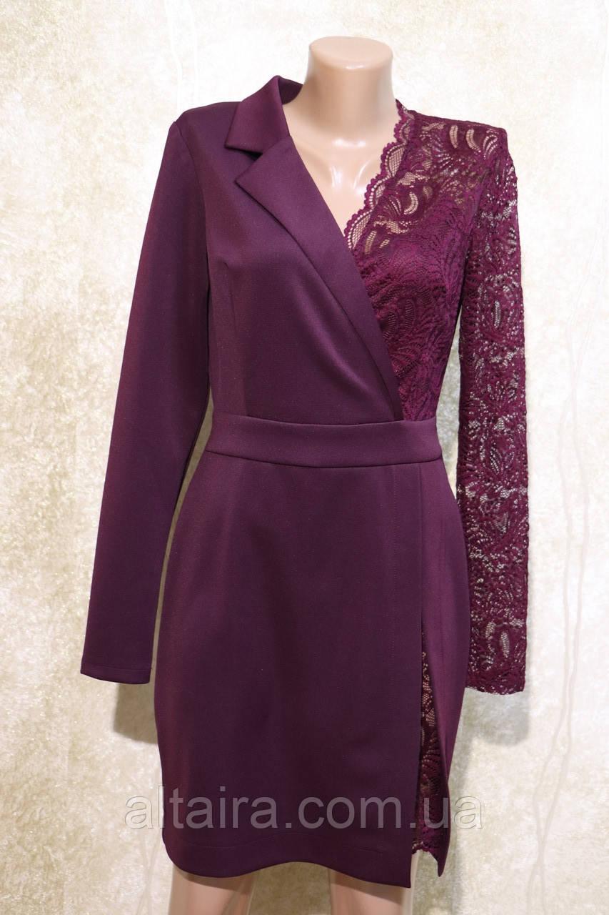 Молодёжное платье бордового цвета от Ирена Ричи. Молодіжна сукня бордова від Ірена Річі.