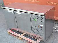 Холодильный стол из нержавеющей стали 160х70х85 см. (Польша), Б/у