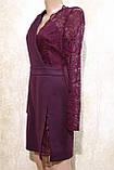 Молодёжное платье бордового цвета от Ирена Ричи. Молодіжна сукня бордова від Ірена Річі., фото 2