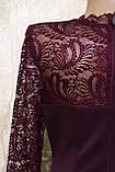 Молодёжное платье бордового цвета от Ирена Ричи. Молодіжна сукня бордова від Ірена Річі., фото 6