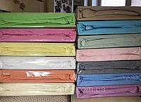 Махровая простынь-наматрасник 180х200 на резинке с 2 наволочками 50*70, разные цвета, Турция