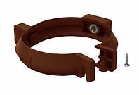 Кронштейн трубы 100мм RainWay коричневый