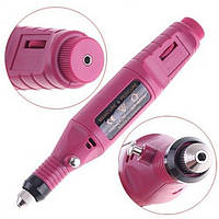 Машинка для маникюра и педикюра 6 в 1, фрезер ручка Розовый