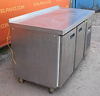 Холодильный стол из нержавеющей стали «СХ 07-250» 155х70х85 см. (Украина), Б/у