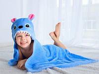 Акция полотенце, плед , уголок , конверт для детей с капюшоном 76*102