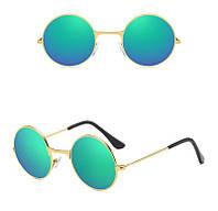 Детские солнцезащитные очки HAPTRON YJ-KD-00111212 зелено-золотистый