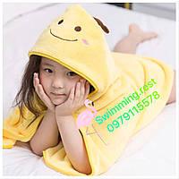 Уголок полотенце плед халат для детей микрофибра супер качество Пчелка